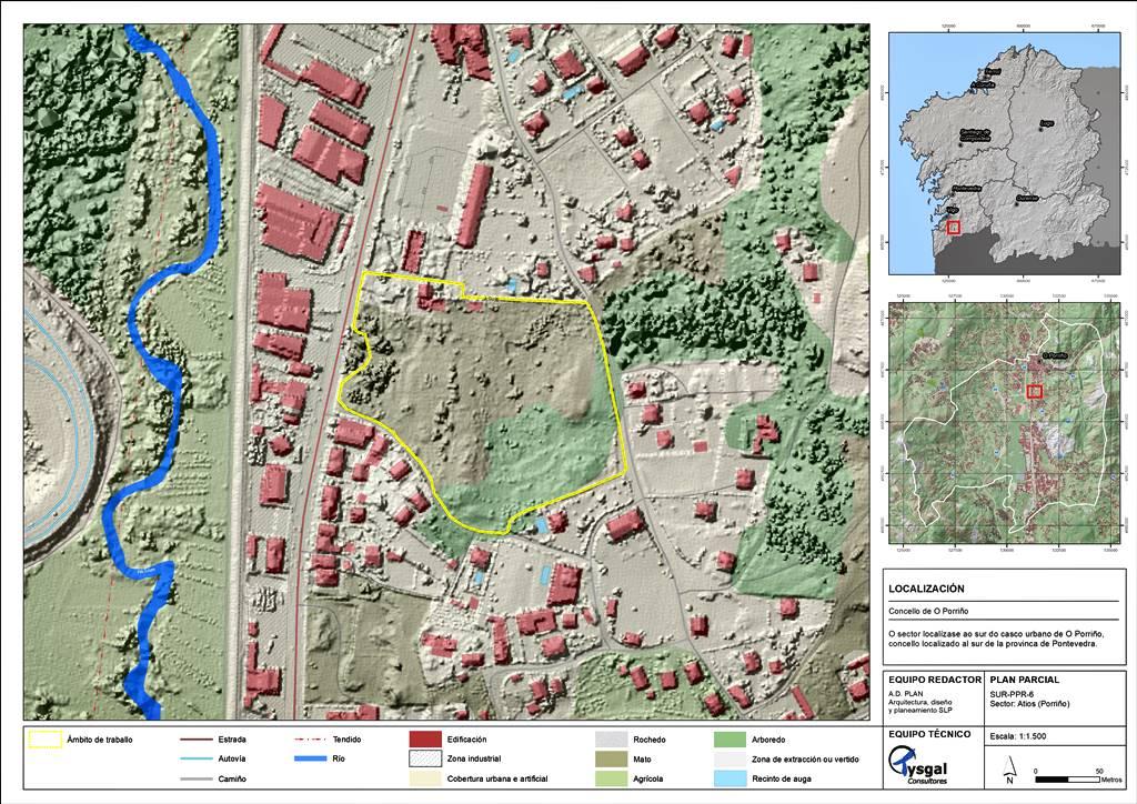 DAE Plan Parcial SIR-PPR-6 en Porriño (Pontevedra)