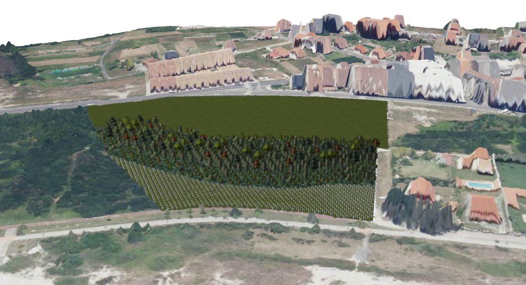 Proyecto de restauración paisajística y ambiental de la escombrera de O Areal (Laxe)